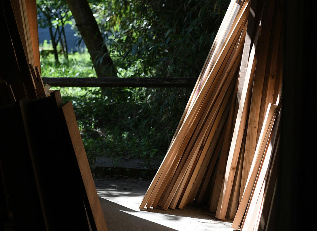 木材の燃焼実験結果のイメージ画像